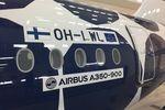 Finnair verpasst elfter A350 ein Kivet-Kleid