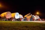 A380-Sektionen für ANA treffen in Toulouse ein