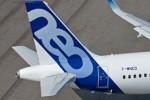 Flugzeugstau an Airbus-Werken