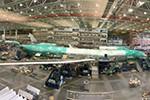 Boeing montiert ersten 777X-Rumpf