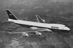 British Airways lackiert eine 747 in BOAC-Farben