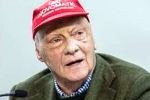Ehrenrunde für Niki Lauda