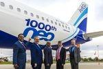 Das 1000. Flugzeug der A320neo-Familie