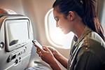 Internet im Flugzeug weiterhin schwierig