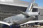 Erster Airbus A380 ist zerlegt