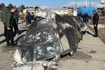 Medien: 737 von zwei iranischen Raketen getroffen