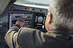 Touchscreens sollen Piloten das Leben vereinfachen