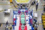Leiser NASA-Jet nimmt Form an