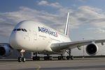 Letzte Reise für die erste A380 von Air France