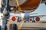 So halten Airlines langzeitgeparkte Flugzeuge fit