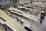 Airbus hält Produktionsrate aufrecht