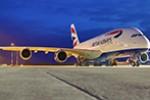 British Airways parkt ihre A380 um