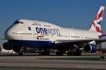 Boeing 747-400 von British Airways fängt Feuer