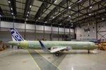 Airbus hält an langsamer Steigerung der Produktion fest