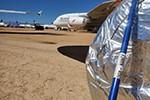 Schlangen und Skorpione nisten sich in A380 ein