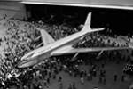 Ungewöhnlich speisen in einer Boeing 707 im Westjordanland