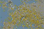 Flugverkehr übertrifft Eurocontrols Erwartungen
