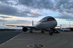 Auch die dritte A350 für Deutschland ist flügge
