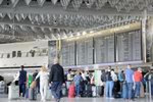 Flughäfen kommen mit Andrang besser zurecht