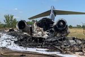 MD-87 brennt nach Startunfall komplett aus