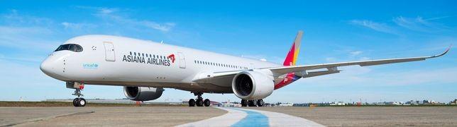 Asiana Airlines übernimmt ihre erste A350-900