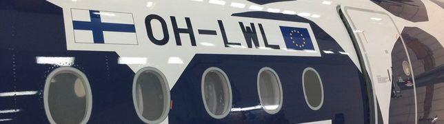 Finnair verpasst elfter A350 ein Kivet-Muster