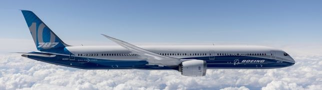 Boeing 787-10 ist bereit für den Liniendienst