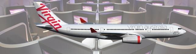 Quer über Australien mit der Virgin A330