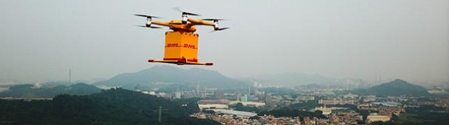 DHL beliefert chinesischen Kunden mit Drohne