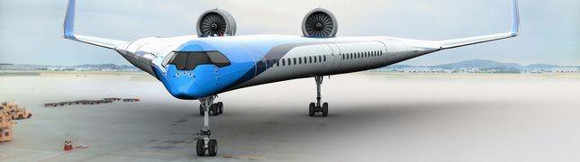 Sieht so das Passagierflugzeug der Zukunft aus?