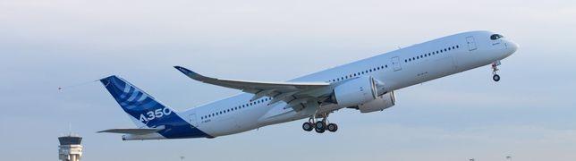 Erste A350 für die Flugbereitschaft fliegt