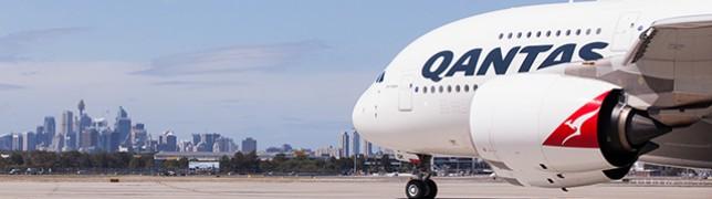 Qantas schickt die ersten A380 in die Wüste