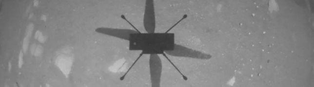 Auf dem Mars ist Fliegen möglich