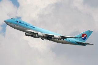 Korean Air Cargo Boeing 747-400F