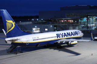 Ryanair am Airport Weeze