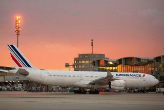 Airbus A340 der Air France-KLM
