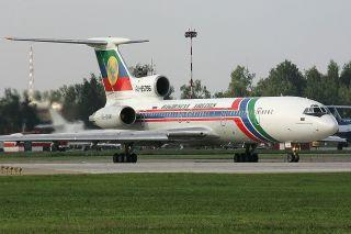 Dagestan Airlines Tupolev Tu-154M