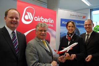 Air Berlin nach Friedrichshafen