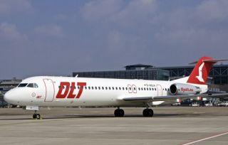 Fokker 100 der OLT