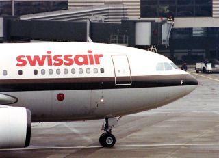 Airbus A310 der Swissair
