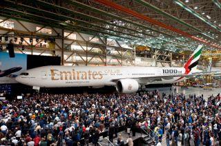 1000. Boeing 777