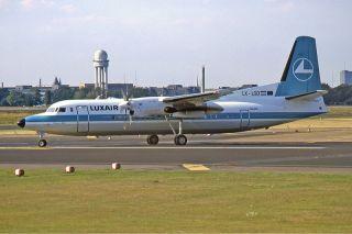 Luxair Fokker 50