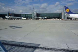 Flughafen Frankfurt Flugsteig A-Plus