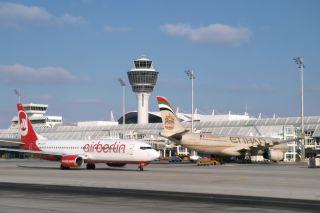 airberlin und Etihad Airways