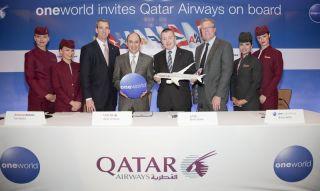 Qatar Airways tritt oneworld bei