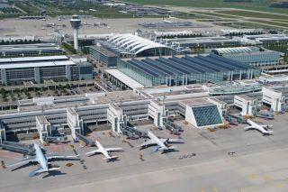 Luftaufnahme Flughafen München