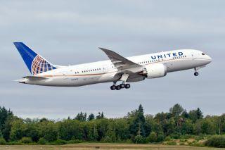 United Boeing 787