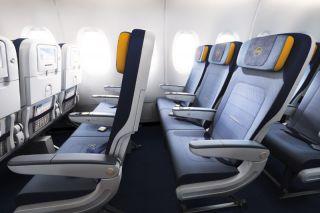 Lufthansa Airbus A380 Economy Class
