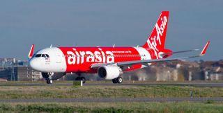 AirAsia Airbus A320 mit Sharklets
