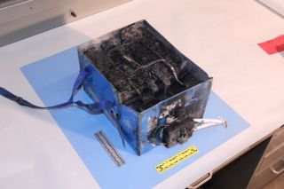 Überhitzte Lithium-Ionen-Batterie